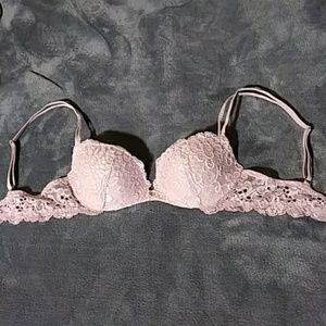 VS lace push up bra